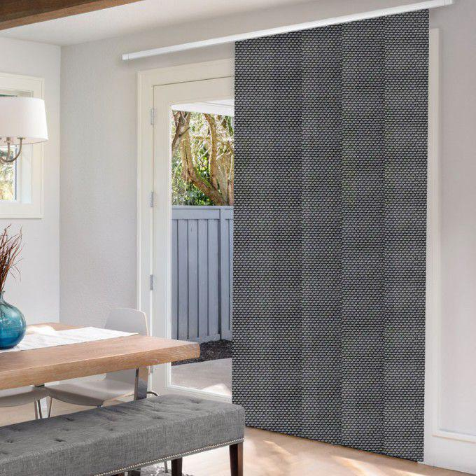 panel track blinds for patio doors