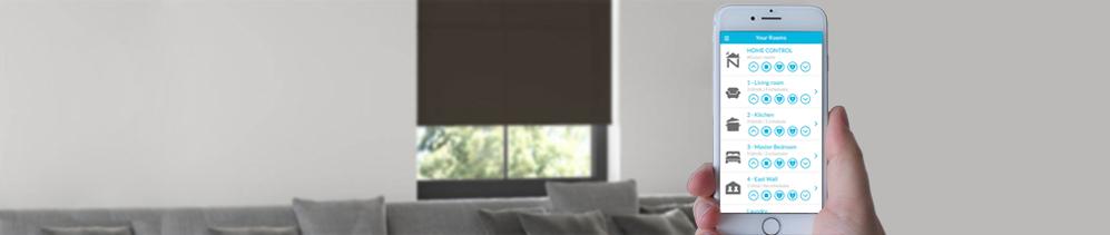 smart blinds system