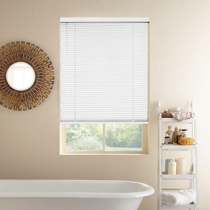 """1"""" value aluminum blinds"""
