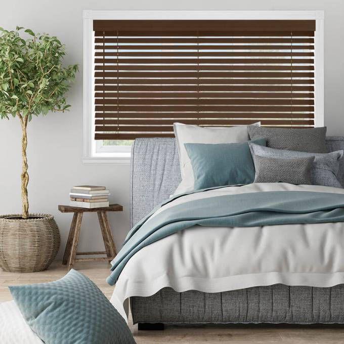 premium faux wood blinds