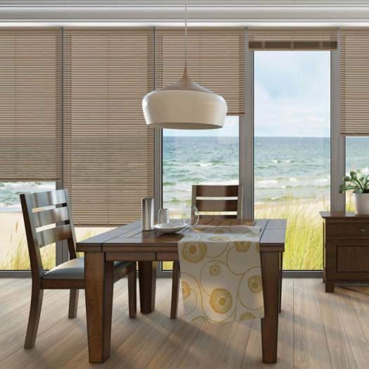 designer cordless aluminum mini blinds