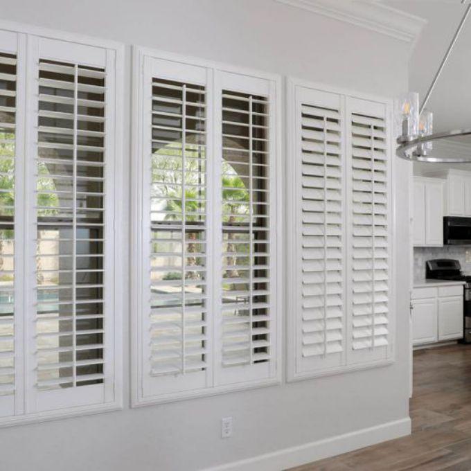 premium wood shutters